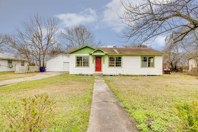 Texas City Single Family Home For Sale: 3124 Texas Avenue