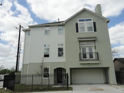 Houston Condo/Townhouse For Sale: 801 E 29th Street