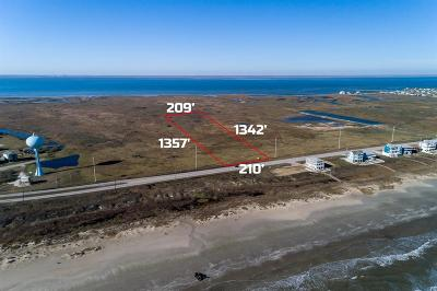 Galveston Residential Lots & Land For Sale: Tr 10-1 San Luis Pass Road
