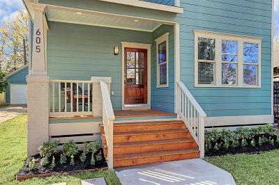 Houston Single Family Home For Sale: 605 Walton Street