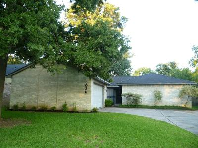 Spring Single Family Home For Sale: 6026 Rustygate Drive