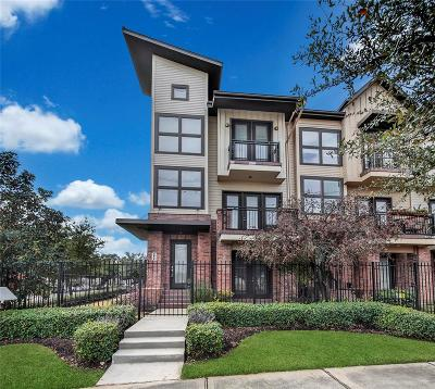 Houston Condo/Townhouse For Sale: 2834 Polk Street