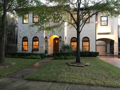 West University Place Single Family Home For Sale: 4125 Tennyson Street