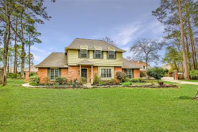 Tomball Single Family Home For Sale: 8 Hollow Glen Lane