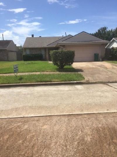 Pasadena Single Family Home For Sale: 3806 Duquesne Lane