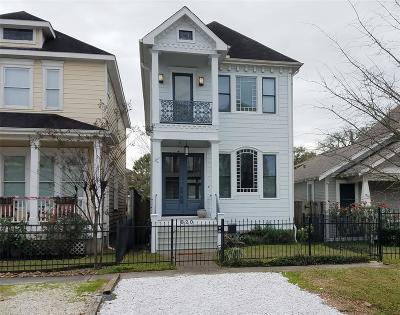Houston Single Family Home For Sale: 820 W 21st Street