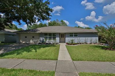 Houston Single Family Home For Sale: 5602 Ludington Drive