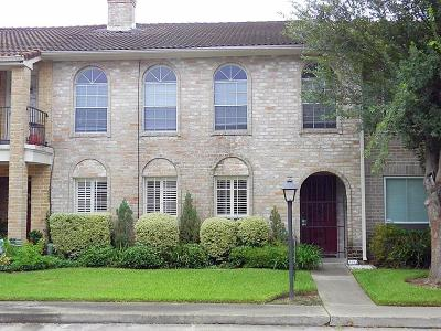 Missouri City Condo/Townhouse For Sale: 3254 Continental Drive