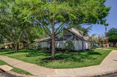 Houston Single Family Home For Sale: 1127 Coachlight Drive