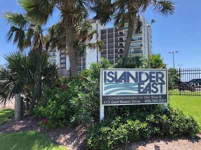 Galveston Mid/High-Rise For Sale: 415 E Beach Drive #807
