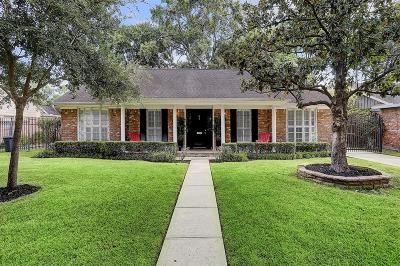 Houston Single Family Home For Sale: 7811 Meadowvale Drive