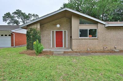Houston Single Family Home For Sale: 5827 Southminster Drive