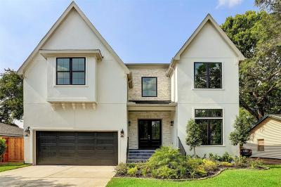 Houston TX Single Family Home For Sale: $1,129,000