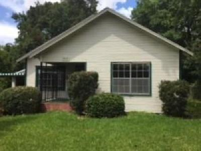 Houston TX Single Family Home For Sale: $122,000