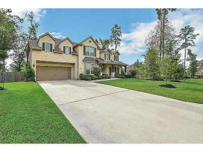 Conroe Single Family Home For Sale: 1813 Lily Meadows Drive