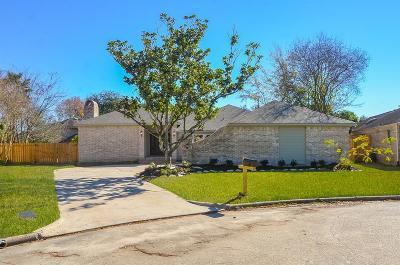 Houston TX Single Family Home For Sale: $359,000