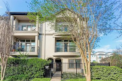 Galveston County, Harris County Condo/Townhouse For Sale: 1409 Rosedale Street