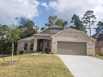 Conroe Single Family Home For Sale: 323 Black Walnut Court