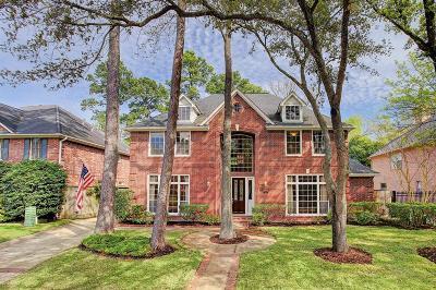 Houston Single Family Home For Sale: 14 Hilshire Grove Lane