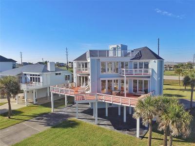 Galveston Single Family Home For Sale: 18406 E De Vaca