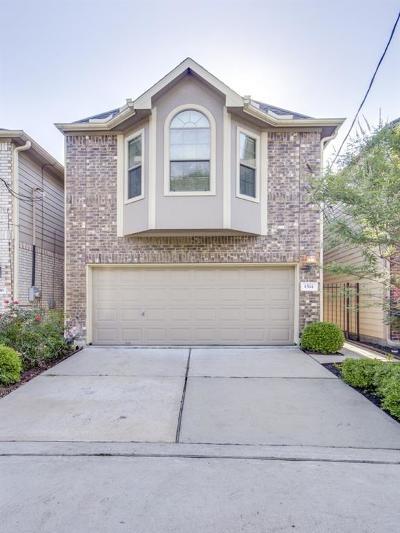 Houston Single Family Home For Sale: 1514 Dian Street