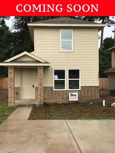 Montgomery Single Family Home For Sale: 16654 East Hammon