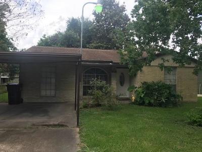 Houston Single Family Home For Sale: 3003 Brea Crest Street