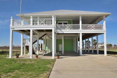 Crystal Beach Single Family Home For Sale: 455 Atkinson