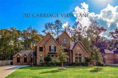 Huffman Single Family Home For Sale: 702 Carriage View Lane