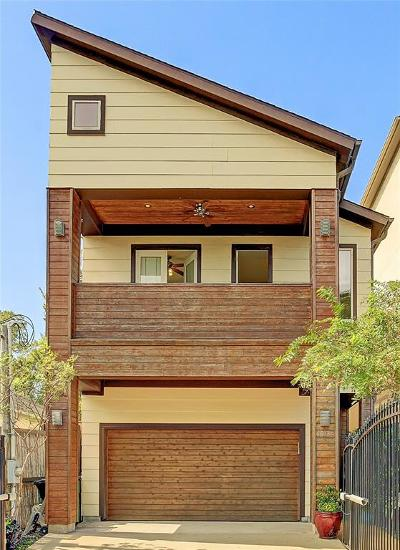Houston Single Family Home For Sale: 1033 Herkimer Street