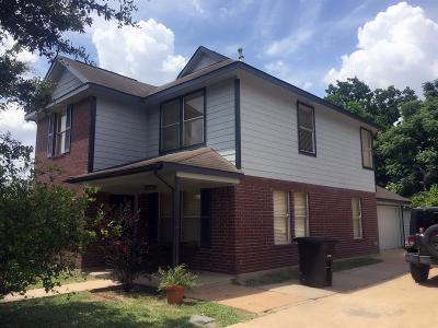 Houston Single Family Home For Sale: 3921 Polk Street