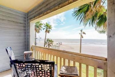 Galveston Condo/Townhouse For Sale: 7000 Seawall Boulevard #222