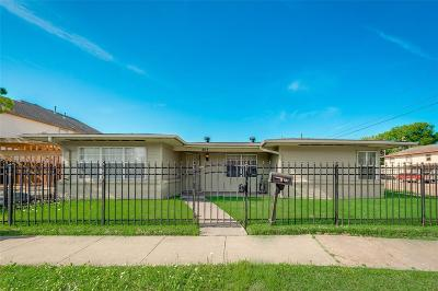 Houston Single Family Home For Sale: 803 W 20th Street