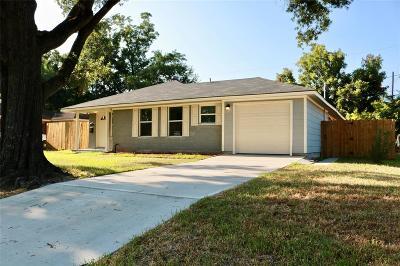 Houston Single Family Home For Sale: 5902 Westover Street