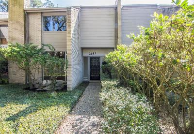 Kingwood Condo/Townhouse For Sale: 2181 Lake Village Drive