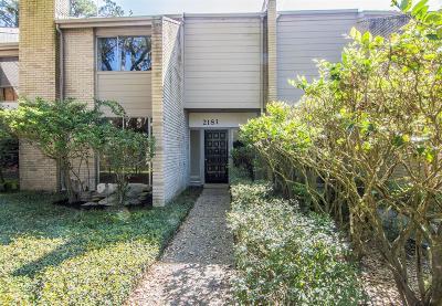 Kingwood Condo/Townhouse For Sale: 2181 Lake Village Drive