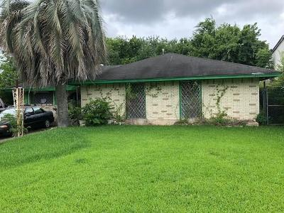 Houston Single Family Home For Sale: 8507 Medford Drive