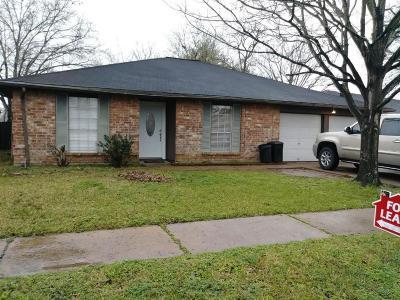 Houston TX Single Family Home For Sale: $1,390