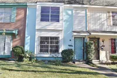 Houston Condo/Townhouse For Sale: 6127 Fondren Road #19