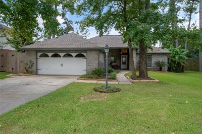 Tomball Single Family Home For Sale: 22419 Hollybranch Drive