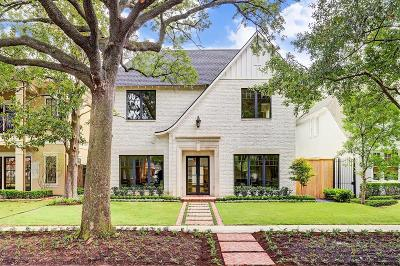 Houston Single Family Home For Sale: 1821 Wroxton Road