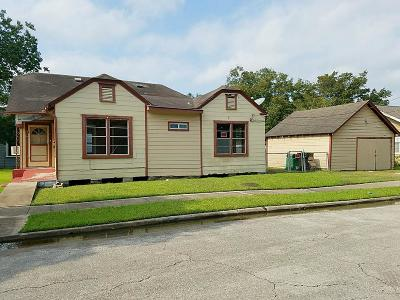 Houston Single Family Home For Sale: 5619 Craig Street