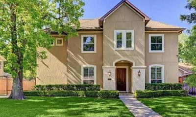 Houston TX Single Family Home For Sale: $825,000