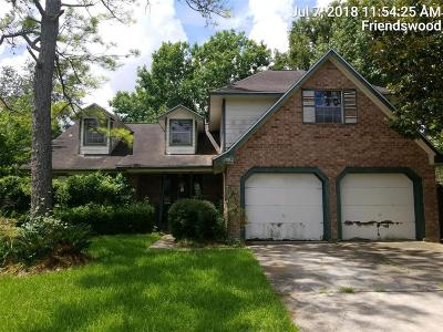 Friendswood Single Family Home For Sale: 1902 Presidio Street