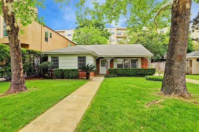 Houston Single Family Home For Sale: 4027 Norfolk Street