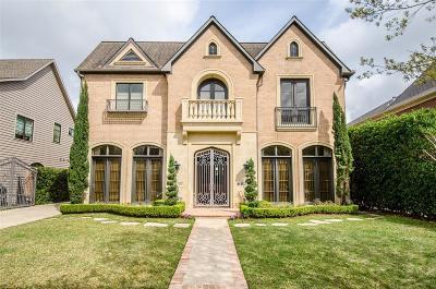 Houston Single Family Home For Sale: 4220 Milton Street
