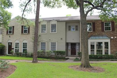 Houston Condo/Townhouse For Sale: 12933 Trail Hollow Drive