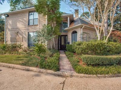 Houston Condo/Townhouse For Sale: 53 Bayou Pointe Drive
