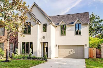 West University Place Single Family Home For Sale: 3935 Coleridge Street