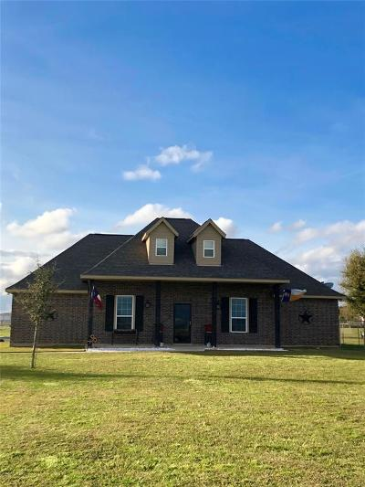 Sealy Single Family Home For Sale: 542 Schmidt Road Road
